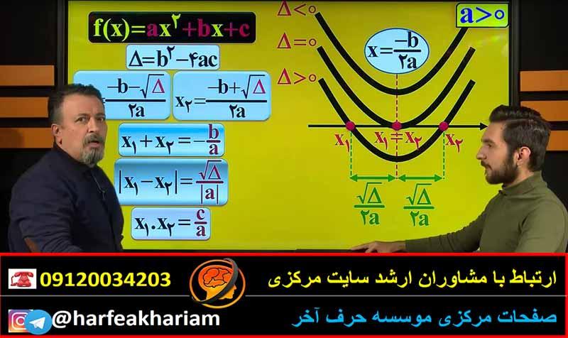 ریاضی جامع1 نظام جدید حرف آخر(تجربی)